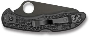 Spyderco Salt 2 Black Plain