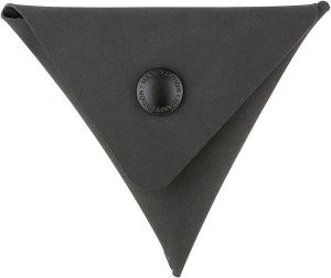 AGR TCP Triangle Coin Pouch Black