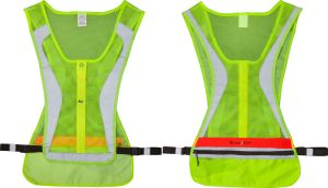 LED Safety Running Vest SM/MD