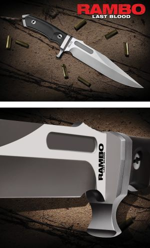 RAMBO Last Blood MK-8 Bowie  Ltd. Edition