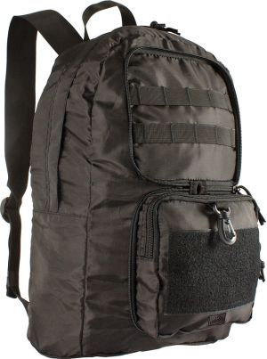 Rucksack  400D PU-beschichtetes Polyester Collapsible Backpack Black