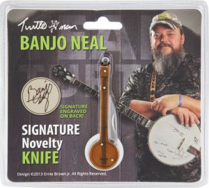 Banjo Neal Novelty Knife