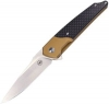 Amare Pocket Peak Linerlock Gold