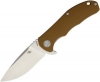 CH Knives Framelock Brown