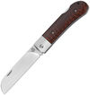 QSP Knife Worker Lockback Snakewood