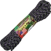 Parachute Cord UNDEAD ZOMBIE  (Neon green, purple, and black)