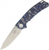 ZKC C01 Framelock Digital Blue