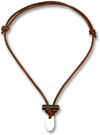 Wazoo Survival Gear Bushcraft Firestarter Necklace